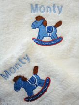 Personalised Childrens Towels, Bath & Hand Towel, Choice of designs